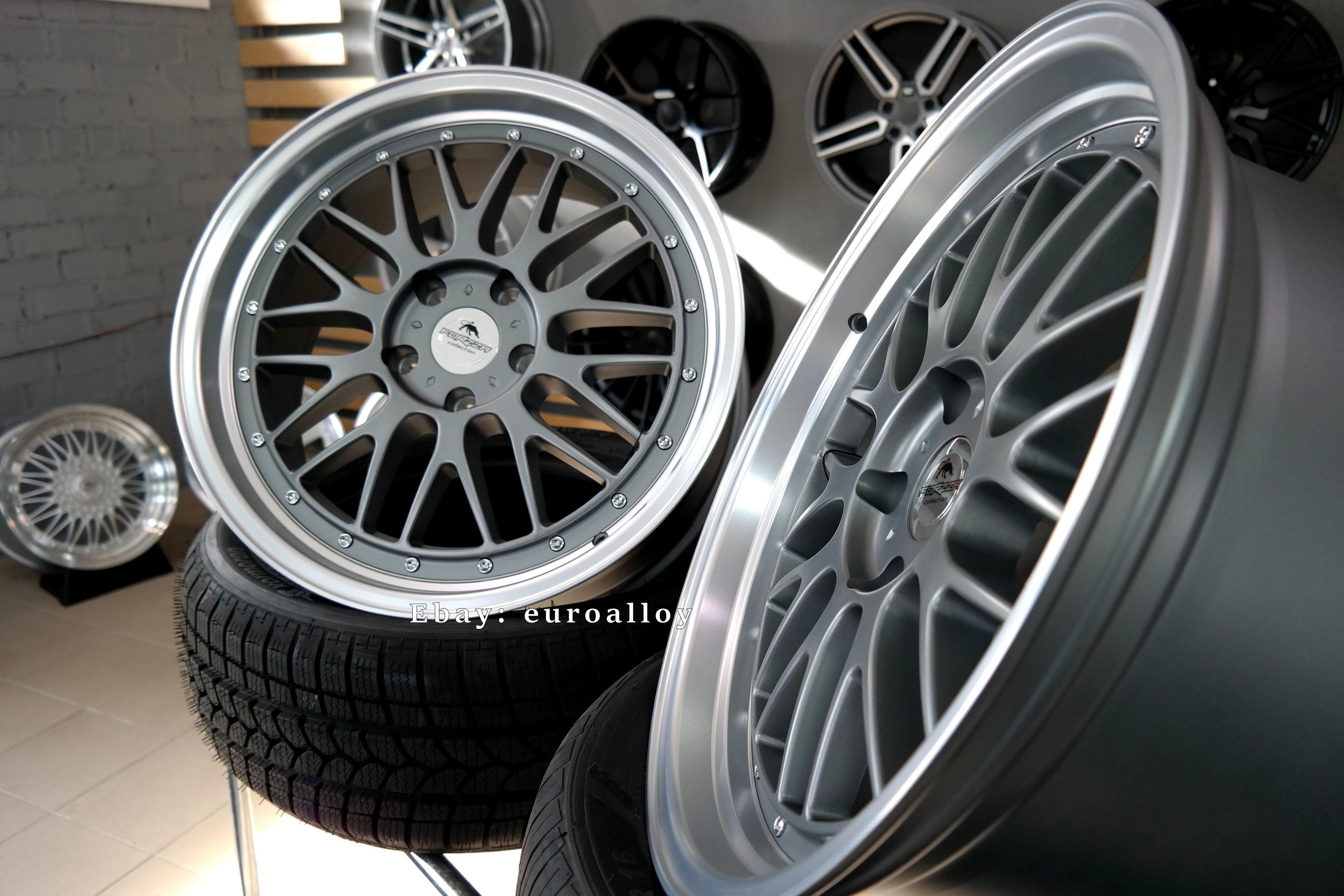 4x 19 Inch 5x120 Bbs Lm Style Wheels For Bmw 3 5 E36 E46 E90 F30 F10 Lip Concave Ebay